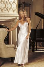 Stunning White Long Gown Nightdress.